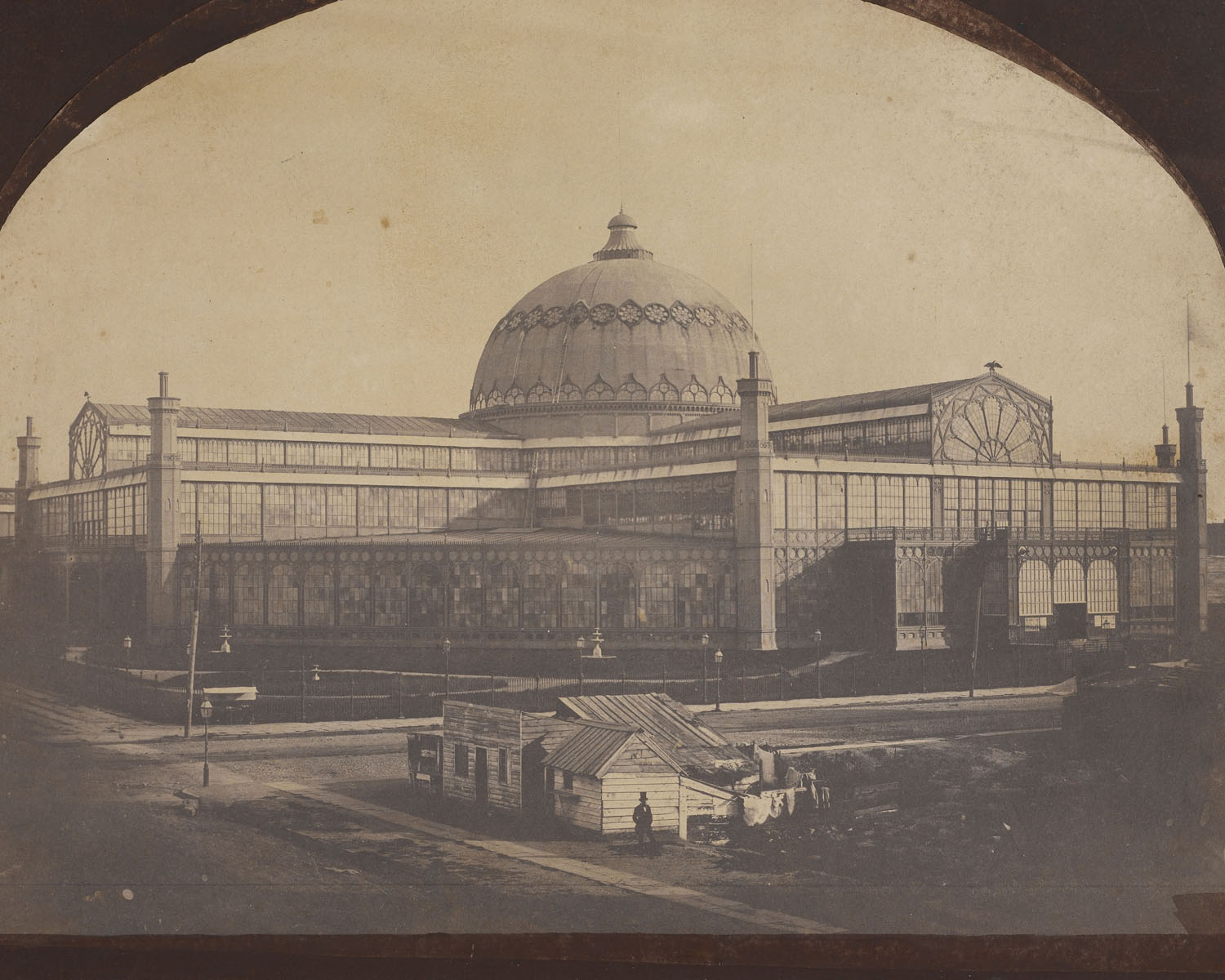 A rare photograph of the New York Crystal Palace by Victor Prevost. Courtesy Avery Architectural & Fine Arts Library, Columbia University