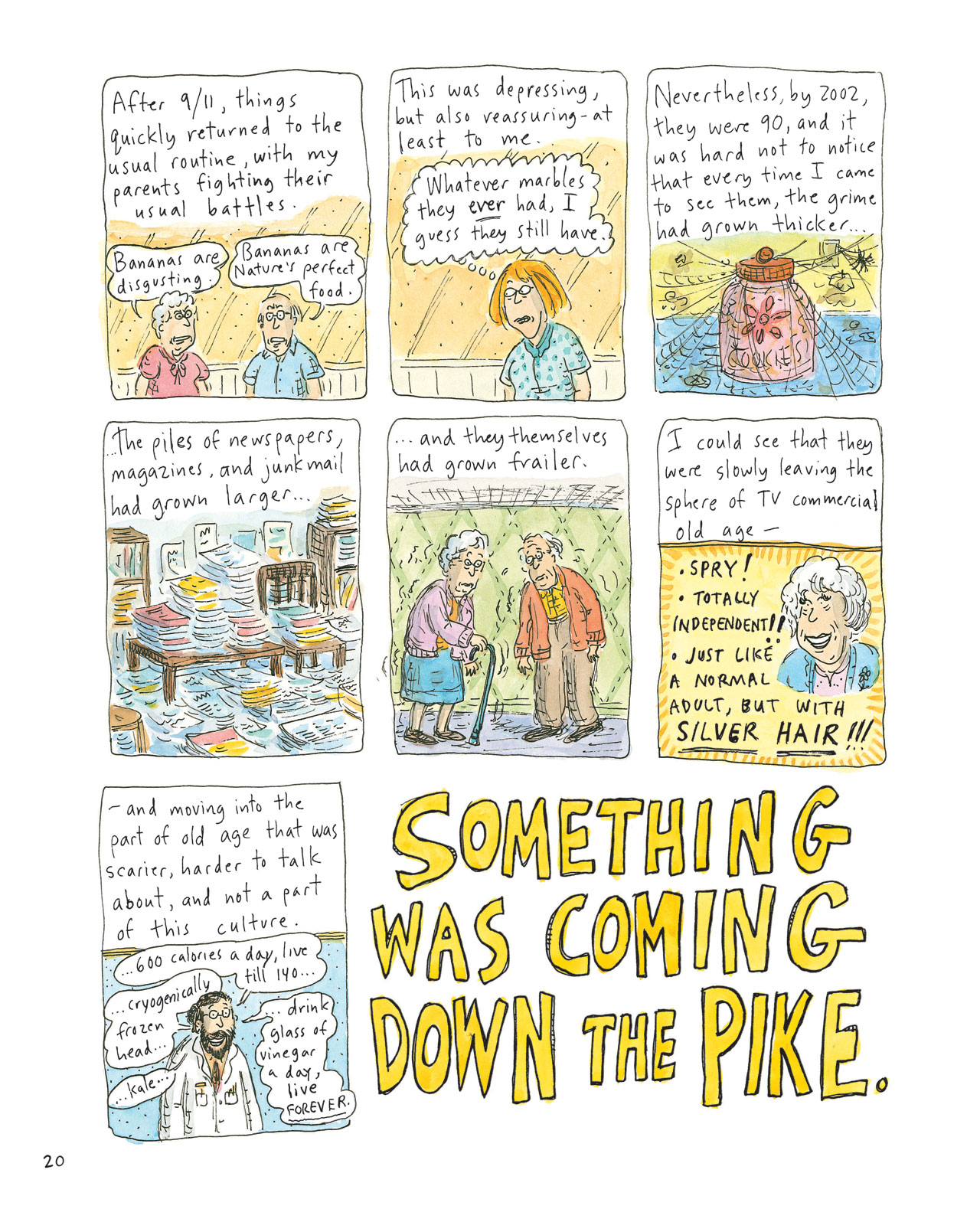 Courtesy Roz Chast/Bloomsbury
