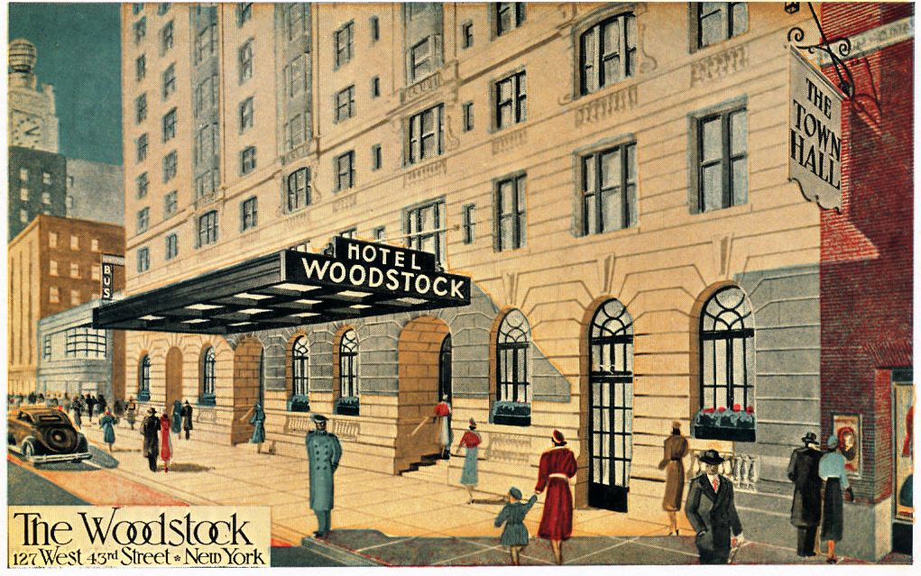 Postcard courtesy Daytonian In Manhattan