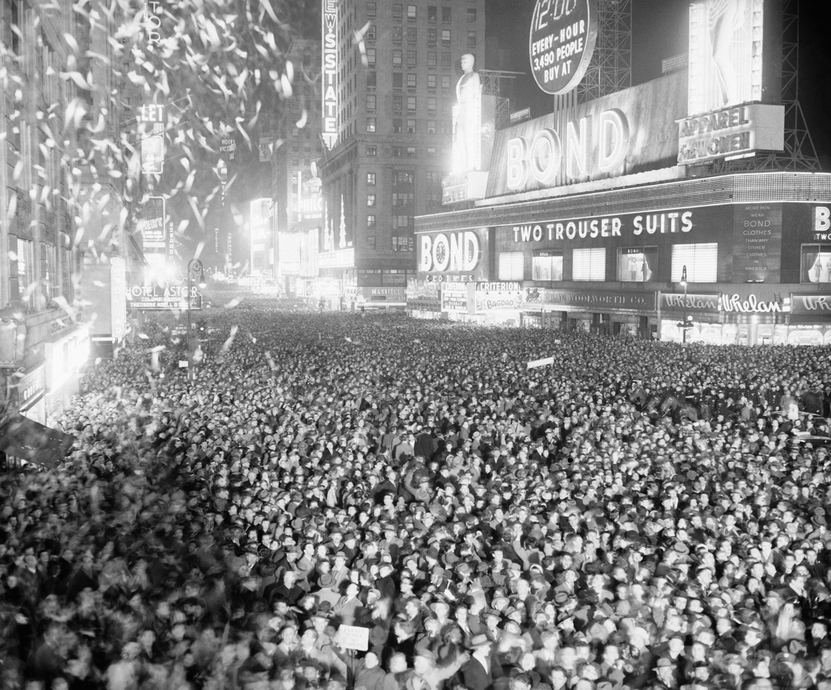 Midnight In Times Square: The History Of New Year's Eve In