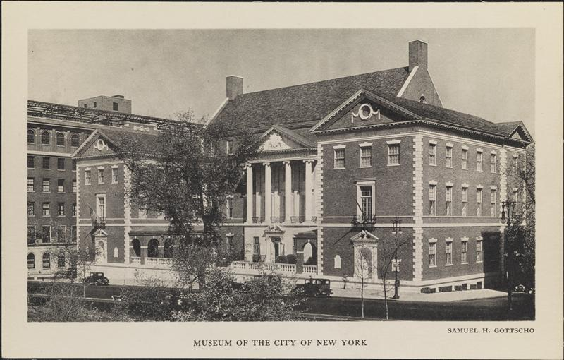 Courtesy Museum of the City of New York