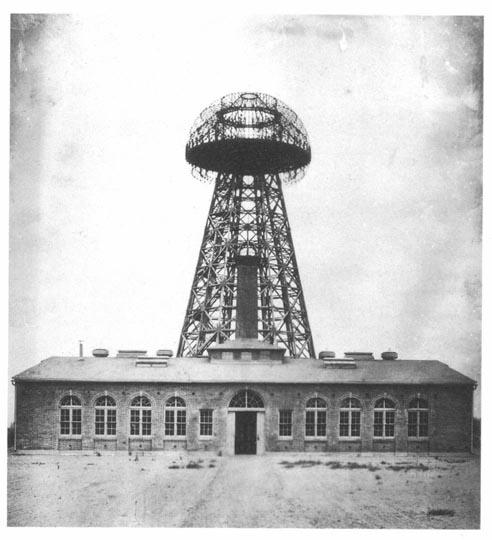Tesla_Broadcast_Tower_1904