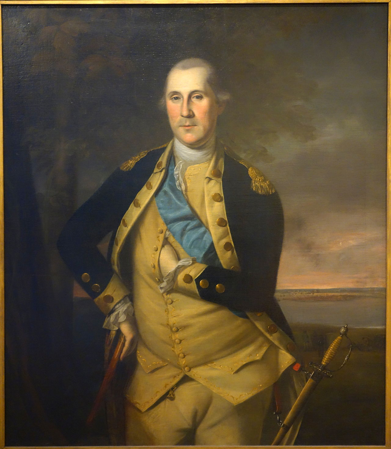 George Washington, painted by Charles Willson Peale in 1776