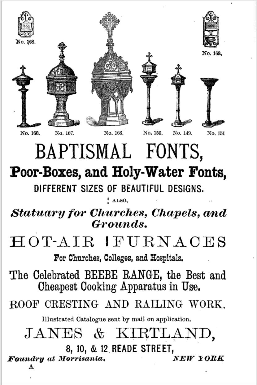 Sadliers' Catholic Directory, Almanac, 1874