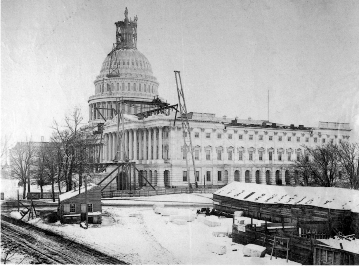 The United States Capitol Dome Was Built In The Bronx The Bowery Boys New York City History