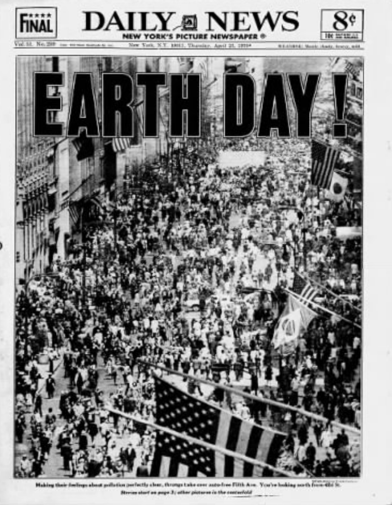Earth Day in New York City 1970 - The Bowery Boys: New York City ...